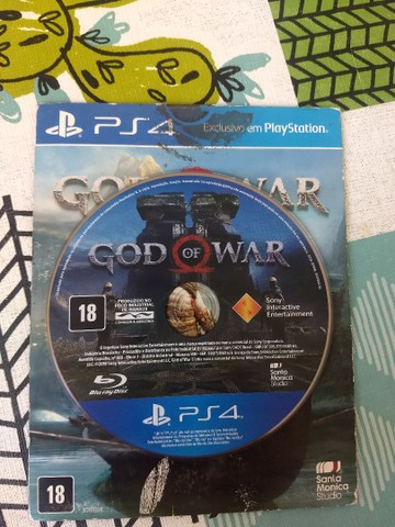God of War 4 - Mídia Física
