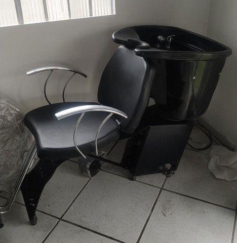 Cadeira + lavatório haisan - Foto 2