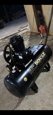 Compressor de ar 200l schulz - Foto 2
