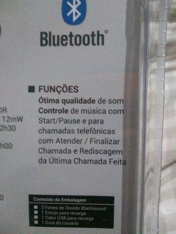 Fone ouvido Bluetooth - Foto 3