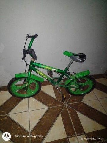 Bicicleta bem 10 Nova usada poucas vezes  - Foto 2