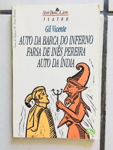 Livro Auto da barca do inferno - Gil Vincente