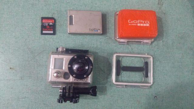 Camera GoPro HERO 2 + cartão de memória 16gb