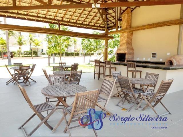 Golf Ville Resort Residence Cobertura à venda mobiliada Porto das Dunas - Foto 16