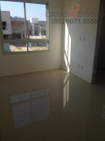 Casa em condominio de 140 m, 3 suites, 2 vagas, nova com lazer, perto ce - Foto 7