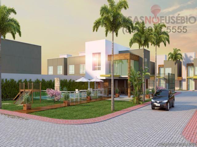 Casa em condominio de 140 m, 3 suites, 2 vagas, nova com lazer, perto ce - Foto 15