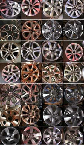 Roda Ford Focus aro 16 2010 - Foto 2