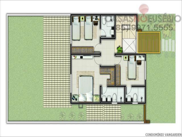 Casa em condominio de 140 m, 3 suites, 2 vagas, nova com lazer, perto ce - Foto 17
