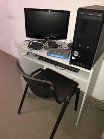 Vendo mesa l e moveis para escritório - Foto 3