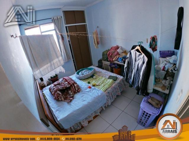 Vende apartamento com 3 quartos no bairro jacarecanga - Foto 11