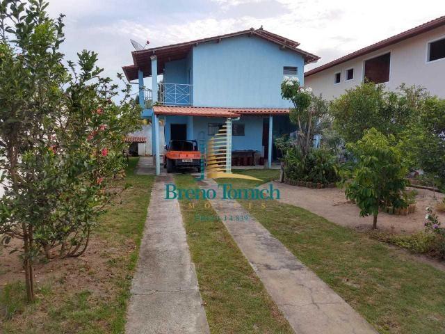Casa com 2 dormitórios à venda por r$ 280.000 - coroa vermelha - porto seguro/bahia