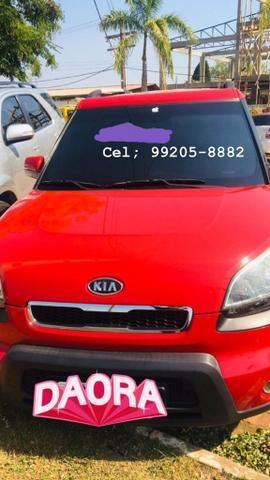 Kia soul vermelho 1.6 16v completo manual super econômico. - Foto 2
