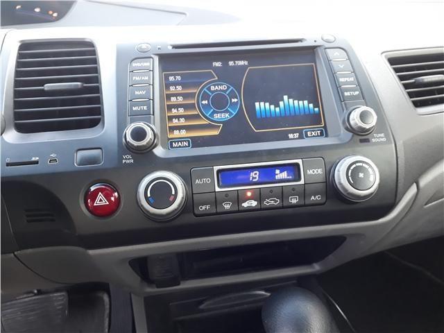Honda Civic 1.8 lxl 16v flex 4p automático - Foto 9