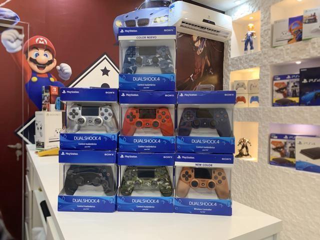 Controles originais Sony Ps4 ! Estaçao dos Games - Foto 2