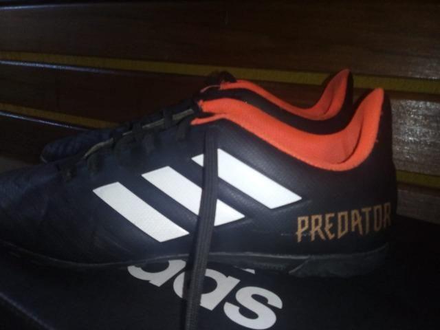 daa0ea9607 Chuteira Society Adidas Predator Tan 39 - Preto e Branco - Roupas e ...