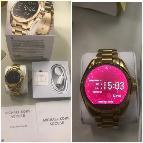 295bd11168bc8 Relogio Michael Kors Original Novo - Digital - Bijouterias, relógios ...