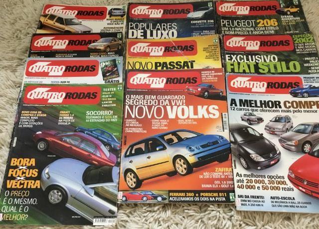 10 Revistas Quatro Rodas Janeiro até Outubro 2001 - Foto 2