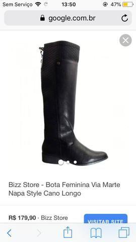 9298cf0f23 Bota feminina - Roupas e calçados - Lagarto