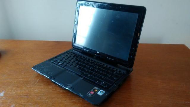 Notebook para retirada de peças - HP touchsmart tx2