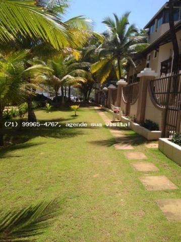 Casa em condomínio para venda em salvador, praia de flamengo, 3 dormitórios, 2 suítes, 4 b