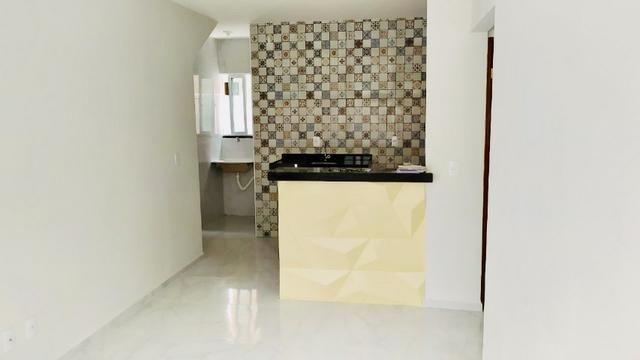Lindo apartamento com fino acabamento 50 m2 , 02 suítes todo no porcelanato - Foto 8