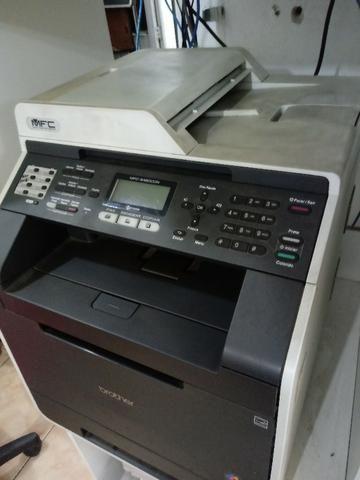Vendo multifuncional brother colorido laser mfc 9460 valor R$500,00 - Foto 2