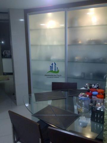 Apartamento alto luxo, 4 quartos, beira mar de candeias - Foto 14