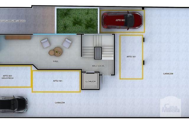 Apartamento à venda com 2 dormitórios em Caiçaras, Belo horizonte cod:268077 - Foto 7