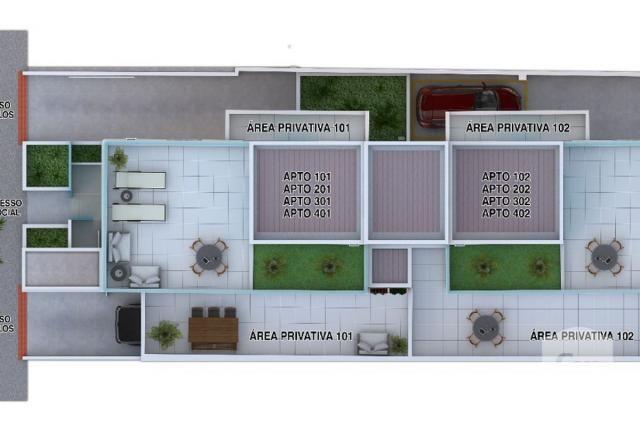 Apartamento à venda com 2 dormitórios em Caiçaras, Belo horizonte cod:268077 - Foto 5
