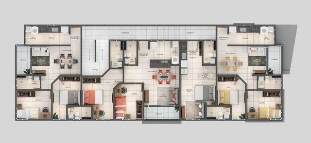 Apartamento á Venda 1 ou 2 quartos nos Bancários - Foto 3