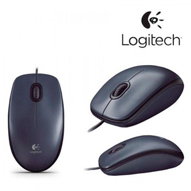 Mouse USB Logitech M90 Óptico Novo Lacrado Garantia - Loja Natan Abreu - Foto 5