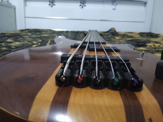 Baixo do luthier Wagner brito - Foto 2