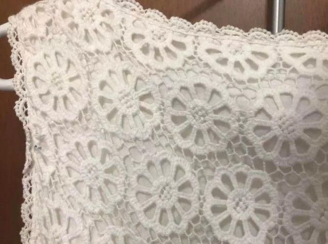Vestido de Renda FARM - Foto 5