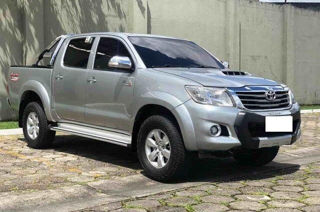 Toyota Hilux Cabine Dupla Hilux 3.0 TDI 4x4 CD srv (Aut) 2015 - Foto 3