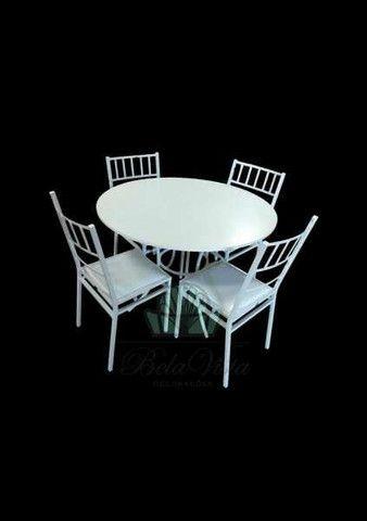 Conjunto Buffet Mesa c/4 Cadeiras - Fabrica