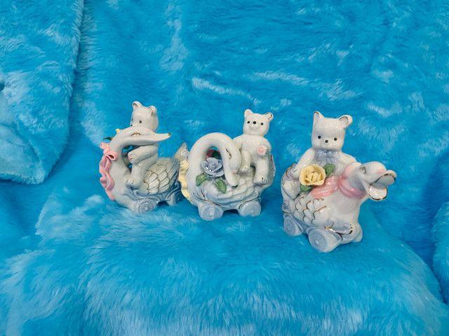 Porcelana conjunto com 3 peças - Foto 2