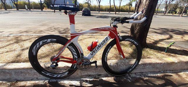 Bike TT Triathlon Specialized Transition Pro full carbono