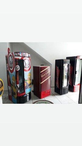 Troco 5 Cervejeiras 500lts porta de vidro por carro com doc okay - Foto 4