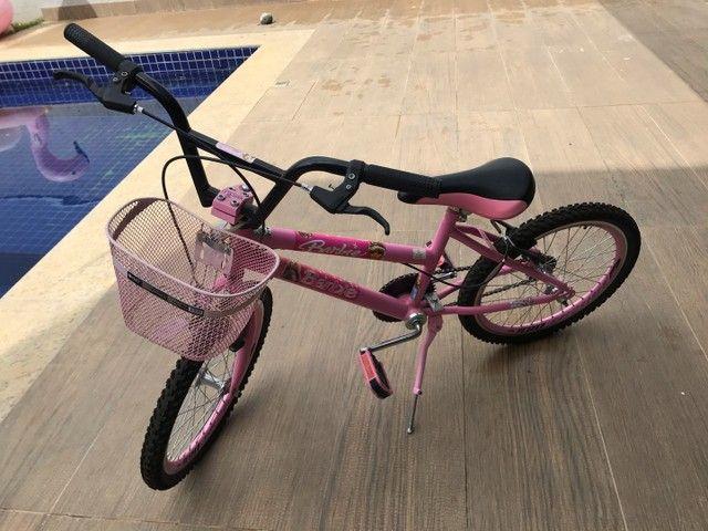 Vende-se bicicleta seminova aro 20