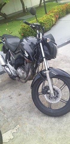 Vendo moto ou troco por carro pra ficar pagando