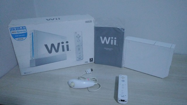 Nintendo Wii c Caixa (Ps1,Ps2,Ps3,mega drive,nintendo,3ds,xbox,wii,psp,3do,pc,Game Boy)