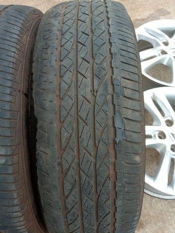 Jogo Pneus Sem Rodas Aro 17 Honda Crv 2011  - Foto 4