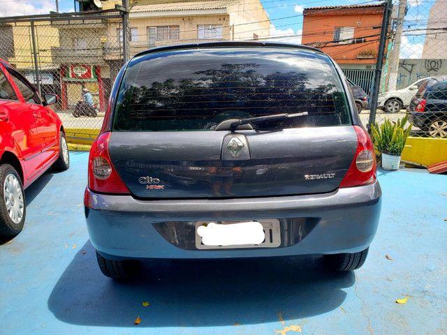 Clio hatch 1.0 4portas- 2007 - Flex - Revisado!! - Foto 5
