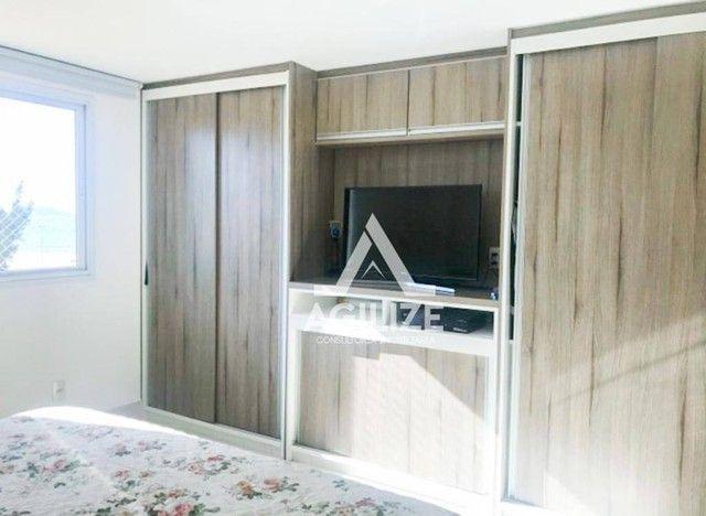 Apartamento com 3 dormitórios à venda, 135 m² por R$ 1.200.000 - Praia do Pecado - Macaé/R - Foto 5