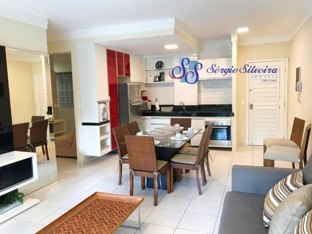 Pé na areia Apartamento 3 quartos no Porto das dunas Beach Living térreo mobiliado