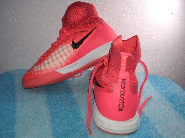 Chuteira Nike Magistax Próximo 2 Futsal Acc Flyknit Original - Foto 4