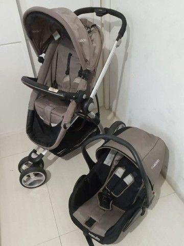 carrinho de bebê+ bebê confort +moisés / compass ii kiddo