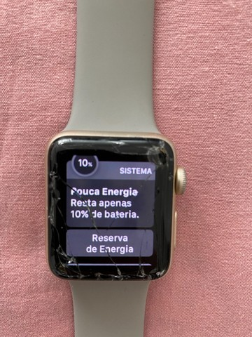 Apple Watch Series 2 - tela quebrada - Foto 2