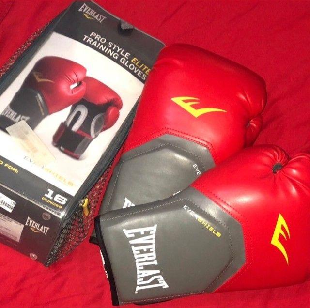 Luva de boxe Everlast - NOVA  - Foto 2
