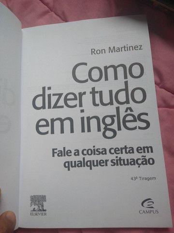 Livro Como dizer tudo em inglês - Foto 2